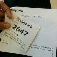 Photo taken at Maybank by Amirah on 6/1/2015