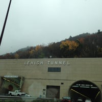 Photo taken at Lehigh Tunnel by Duncan T. on 10/26/2012