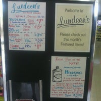 Photo taken at Lundeen's Liquor by Rocco H. on 7/9/2012