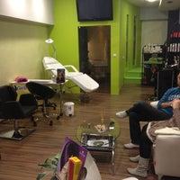 Photo taken at Hair and Beauty Studio multiplex EKRAN by Jasmina S. on 2/15/2012