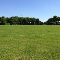 Photo taken at Alexandra Recreation Ground by Mark B. on 6/8/2013