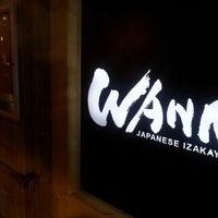 Photo taken at Wann Japanese Izakaya by Yukihisa T. on 10/19/2012
