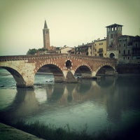 Photo taken at Lungadige San Giorgio by renzo g. on 8/4/2013