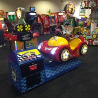 Photo taken at Chuck E. Cheese's by mercedes l. on 7/13/2016