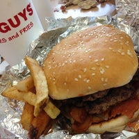 Photo taken at Five Guys by Brian A. on 6/23/2013