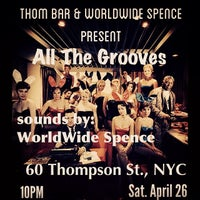 Photo taken at Thom Bar by spencer worldwide g. on 4/26/2014