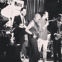 Photo taken at Blue Note by spencer worldwide g. on 4/6/2013