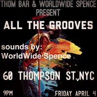 Photo taken at Thom Bar by spencer worldwide g. on 4/2/2014