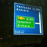 Photo taken at Bolu- Ankara Otoyolu by Akın Saltan on 12/12/2015