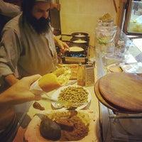 Photo taken at Lahuhe Original Yemanite Food Bar by Keith K. on 11/7/2013