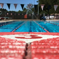 Photo taken at Rinconada Pool by Andrew R. on 5/26/2016