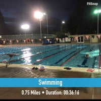 Photo taken at Rinconada Pool by Andrew R. on 8/30/2016