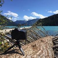Photo taken at Cheakamus Lake by Alex T. on 8/9/2015