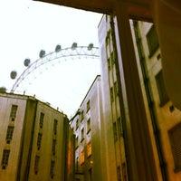 Photo taken at Premier Inn London Waterloo by Andrew S. on 10/2/2012
