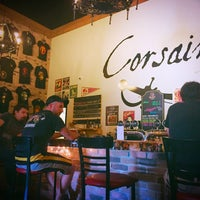 Photo taken at Corsaire Microbrasserie by Eric G. on 8/1/2017