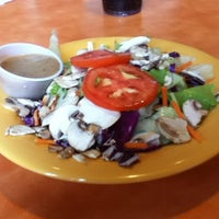 Photo taken at Mellow Mushroom by Kay D. on 10/8/2012
