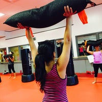Photo taken at Torched Kickboxing and Fitness Center by Tiffany C. on 9/14/2015
