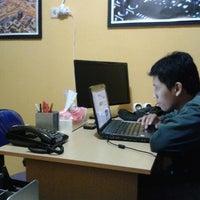 Photo taken at Broadcastindo Operator Room by Handris K. on 7/14/2013