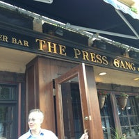 Photo taken at The Press Gang by Nancy L. on 8/7/2013