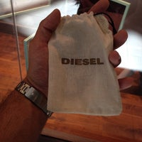 Photo taken at Diesel by Marcelo O. on 2/27/2014