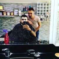 Photo taken at AKB Group's AŞ VIP Erkek Kuaför Salonu by Mustafa E. on 10/1/2016