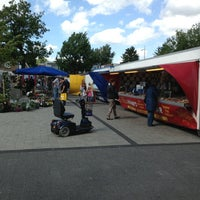 Photo taken at Zaterdagse Warenmarkt by Jeroen G. on 6/15/2013