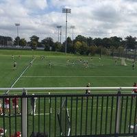 Photo taken at Arlotta Stadium by Kelly H. on 10/15/2016