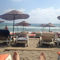 Photo taken at Hedef Beach Plaj by Fatih S. on 8/10/2015