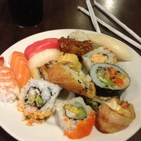 Photo taken at Kiku Japanese Steak & Sushi by Rafael A. on 4/8/2013