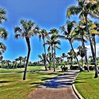 Photo taken at Crandon Golf at Key Biscayne by Sebastian R. on 7/11/2013
