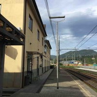 Photo taken at Stazione La Spezia Migliarina by Hyosoo K. on 5/4/2018