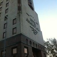 Photo taken at Hotel Silken Amara Plaza by Juan I. on 11/13/2012