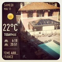 Photo taken at New Hotel of Marseille by Frédéric S. on 5/11/2013