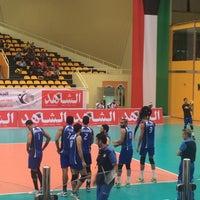 Photo taken at نادي القادسية الرياضي by Heba A. on 11/30/2014