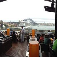 Photo taken at Café Sydney by Katina B. on 3/14/2014