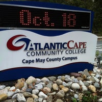Photo taken at Atlantic Cape Community College - CMCH Campus by Anthony M. on 10/15/2012