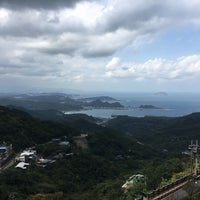 Photo taken at Jiufen lookout point by Dithchai T. on 10/27/2017