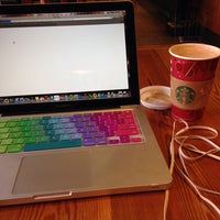 Photo taken at Starbucks by Gabrielle M. on 11/13/2013