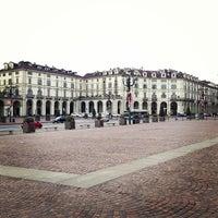 Photo taken at Piazza Vittorio Veneto by Irina 🎀 K. on 1/1/2013