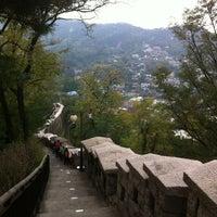 Photo taken at Seoul Namsan Fortress Wall Trail by HY K. on 10/25/2012