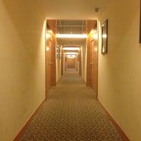 Photo taken at Grand Hotel de la Ville by Riccardo P. on 5/16/2013