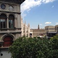 Photo taken at Palazzo dei Giureconsulti by Riccardo P. on 5/30/2013