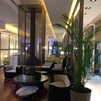 Photo taken at Grand Hotel de la Ville by Riccardo P. on 5/17/2013