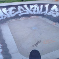 Photo taken at Skatepark - bowl by Riccardo P. on 5/27/2014