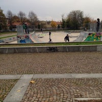 Photo taken at Skatepark Lampugnano by Riccardo P. on 11/23/2013