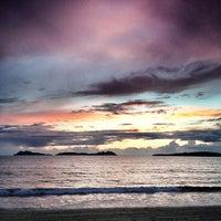 Photo taken at Praia de Samil by freijeiro on 5/17/2013