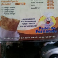 Photo taken at Pastel do Fernando by Reinaldo M. on 7/28/2012