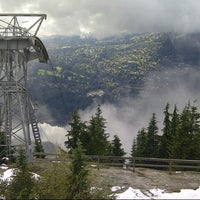 Photo taken at Grouse Mountain by Amy H. on 10/28/2012