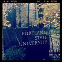 Photo taken at Portland State University by Daijiro M. on 11/20/2012