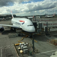 Photo taken at BA0011 to Singapore SIN by Nis H. on 4/25/2015